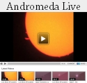 Canalul video Andromeda Live - transmisii prin telescop in direct!