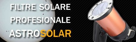 Filtre solare profesionale AstroSolar Baader - acum in stoc